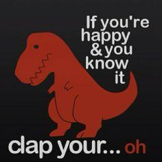 t-rex haha